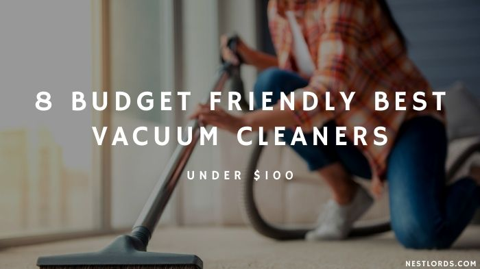 8 Budget Friendly Best Vacuum Cleaners Under $100 [2021]