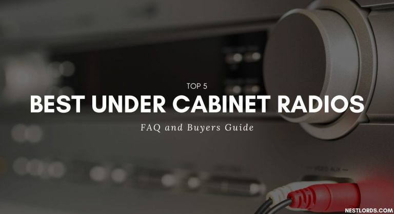 Top 5 Best Under Cabinet Radios – FAQ and Buyers Guide 2021