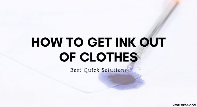 How to Get Ink Out of Clothes: Best Quick Solutions