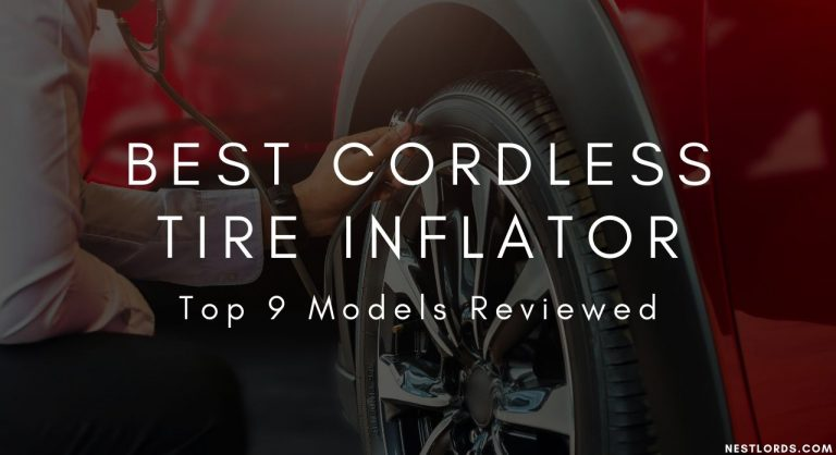 Best Cordless Tire Inflator- 2021 Top 9 Models Reviewed