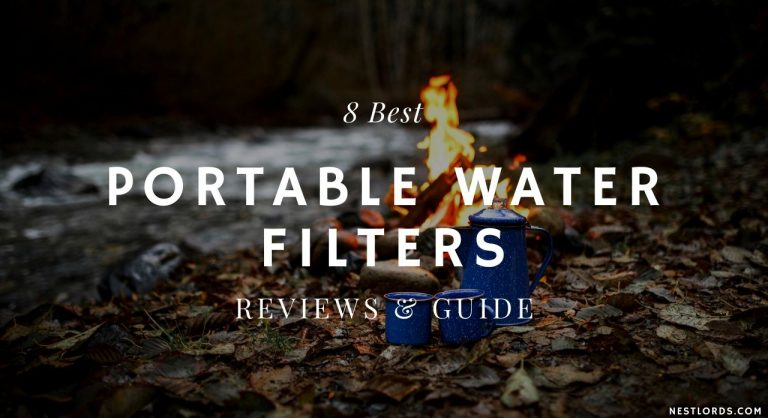 8 Best Portable Water Filters – Reviews & Guide 2021