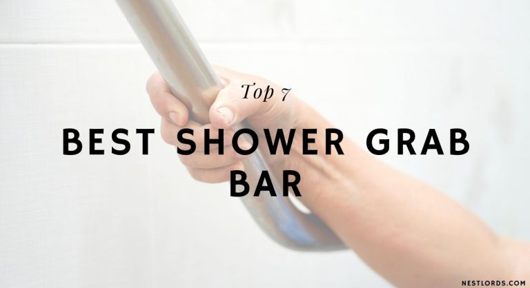 Top 7 Best Shower Grab Bars of 2021 – Reviews & Buyer's Guide