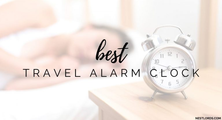 Top 8 Travel Alarm Clocks 2021 Reviews
