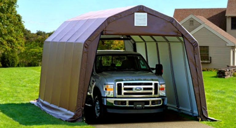 The Best Portable Garages in 2021 Reviews